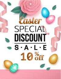 10% April Discount